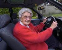 Старушка за рулем